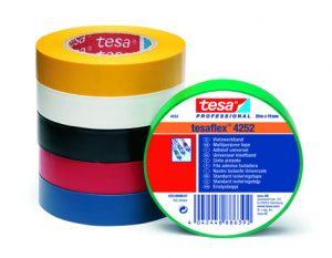 Sécurité et Isolation Electrique – Pour le marquage et l'isolation de câbles – tesaflex® 4252