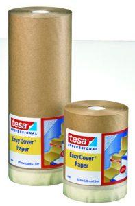 Masquage intérieur – Bâches à lisière adhésive Easy Cover Papier tesa® 4364