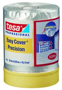 Masquage intérieur – Bâches à lisière adhésive Easy Cover de Précision tesa® 4365