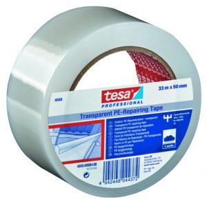 Protection et Réparation dans le Bâtiment – Applications Particulières – Toile de réparation Transparent tesa® 4668